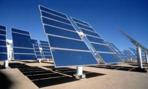 A naperőmű energiát termel