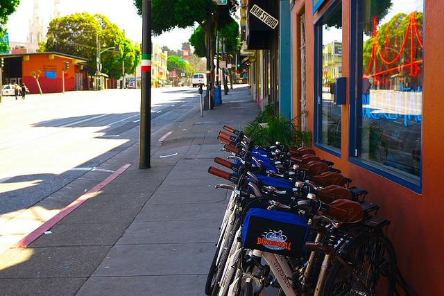Az információk térháza a bicikli alkatrész webáruház oldalára